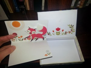 Fox Card Inside